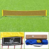 Strong Camel Tennis 16.7' Portable Tennis Net Training Beach with Carrying Bag STAND
