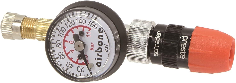 Dual-Valve Presta//Schrader up to 160 PSI EyezOff EZ05-G Tire Pressure Gauge
