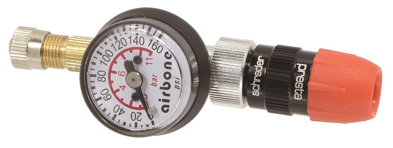 Presta//Schrader valvola reversibile EyezOff EZ618A pneumatici manometro 160 PSI Flo-Thru modello gonfiabile