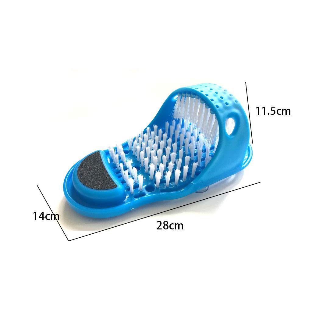 Demana Simple Feet Cleaner Fu/ßw/äscher Slipper Shower Spa Einfache Reinigungsb/ürste Peeling