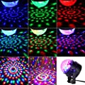 Disco Ball Strobe Light DJ Party Lights Sound Activated SHINE HAI RGB LED Stage Lighting Lamp Portable Karaoke Disco Machine for Home Dance Party Kids Birthday Gift Bar Club Xmas Festival Wedding Show
