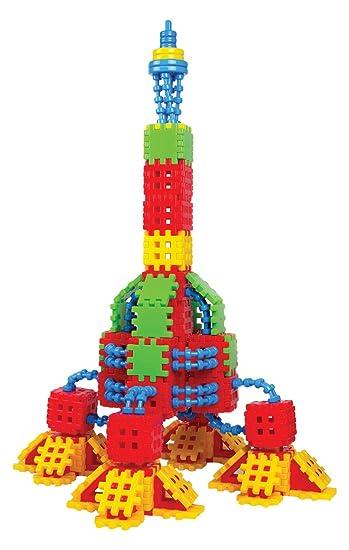 bambini 270 Building Giocattoli Building Blocks 2 Rocket per da Blocks Building Kit HeE29YWDI