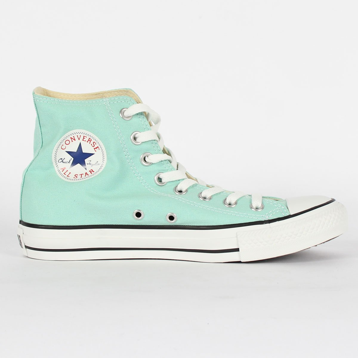 Converse Chuck Taylor All Star High Top Sneakers 136561F Beach Glass 9 M US