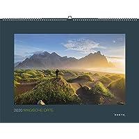 Magische Orte 2020: Kalender 2020 (KUNTH Wandkalender Black Edition)