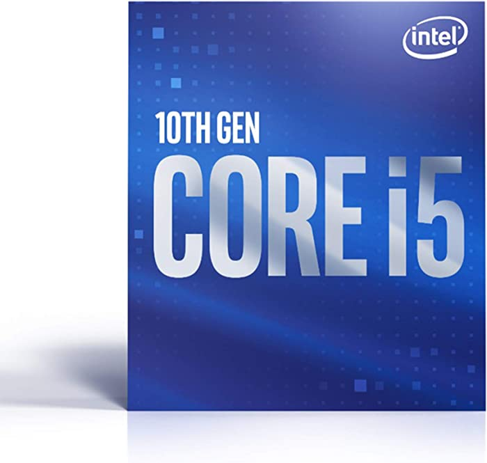 Intel Core i5-10400 Desktop Processor 6 Cores up to 4.3 GHz  LGA1200 (Intel 400 Series Chipset) 65W, Model Number: BX8070110400