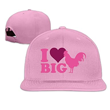 AOHOT Classic Hombre Mujer Gorras de béisbol, I Love Big Cock ...