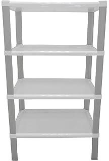 Scaffali In Plastica Ikea.Ikea Scaffale Vesken A 4 Ripiani Colore Bianco Dimensioni 36 Cm