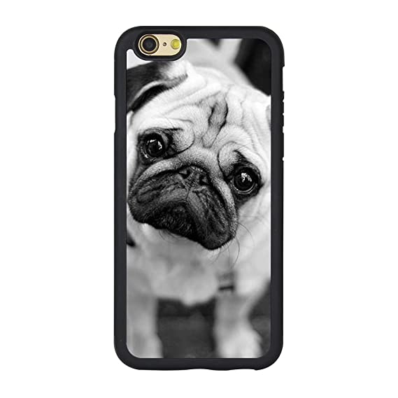 buy online b9804 3cf57 Pug Case for Iphone 6s,Cute Pug Dog Case for Iphone 6/6s 4.7