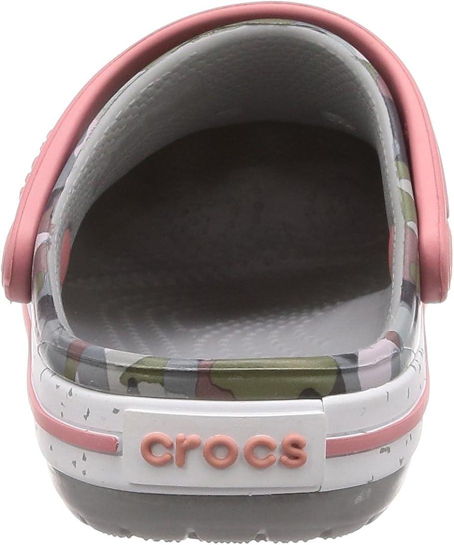 crocs Unisex-Kinder Crocband Camo Speck Kids Clogs