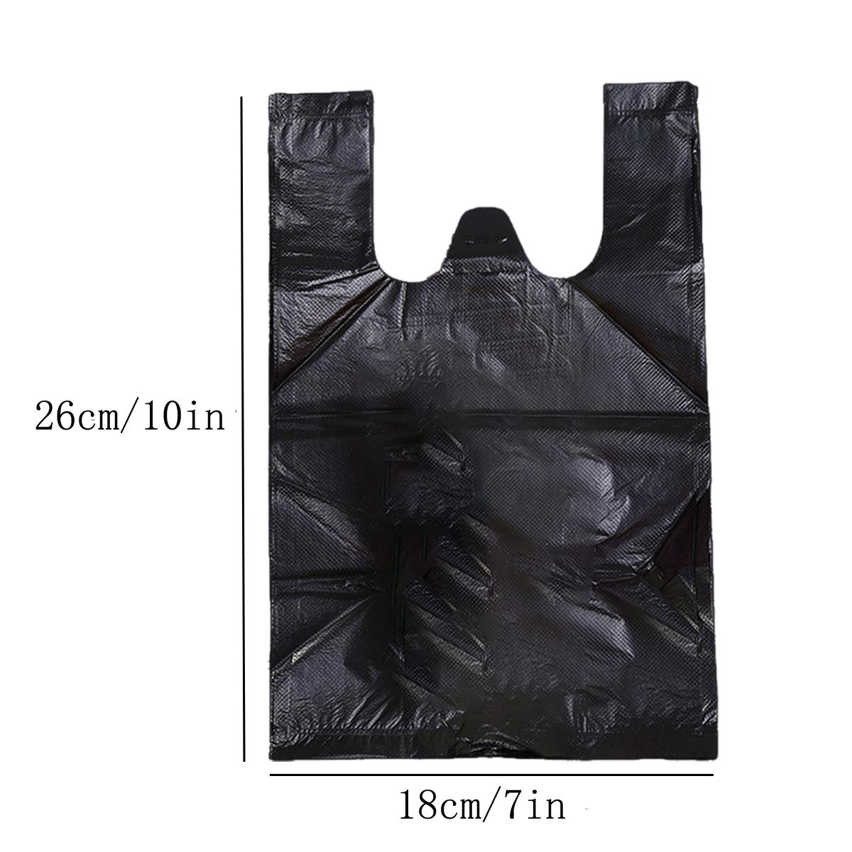 Sanitary Napkin Bags Black Little Waste Bags Set of 300 Pack Personal Disposal Bags