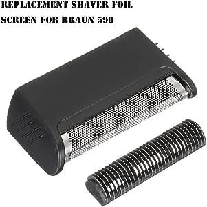 Euopat - Cuchilla de Repuesto para afeitadora Braun 596 - Juego de ...