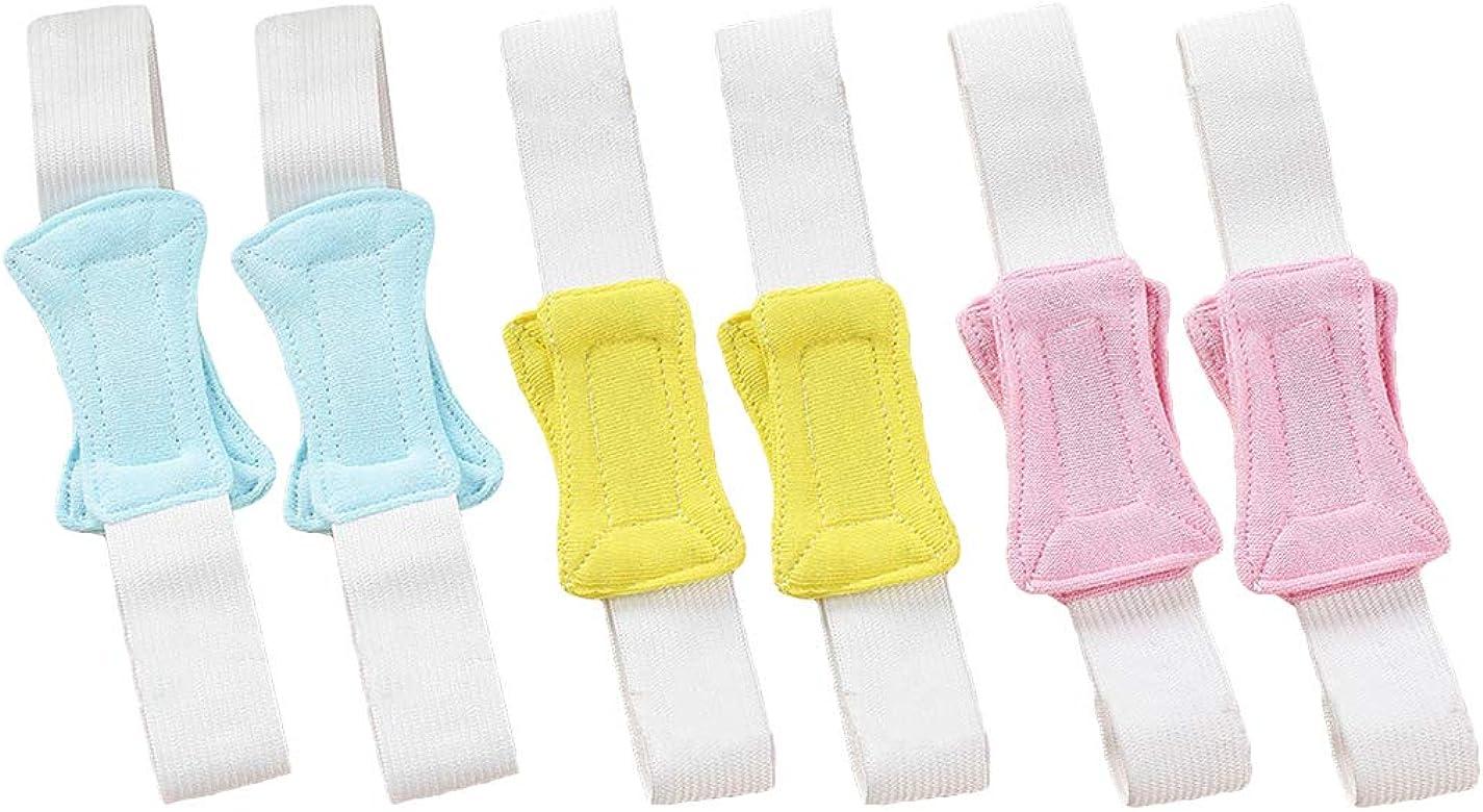 ZOYLINK 6 Piezas Sujetador De Pañales Cinturón De Pañales Accesorios De Pañales De Tela De Algodón Elástico Para Bebés: Amazon.es: Ropa y accesorios