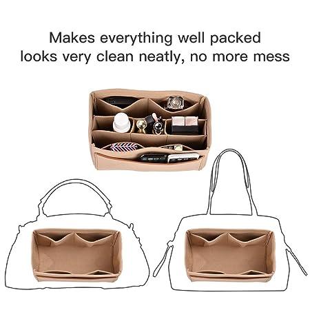 CtopoGo Organizador de Bolso Bag Organizer Bag Organizador de Mujer Bag In Bagcon Bolsa dedesmontable Bolsa en Bolsa Inserto de Bolso Organizador Bolso ...