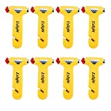 Car Seatbelt Cutter, Safety Hammer Set of 8, Window Breaker Emergency Hammer, Multi-Purpose Life-Saving Auto Escape Tool