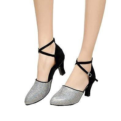 d6466e68a4d57a Sunmoot Women s Dance Shoes