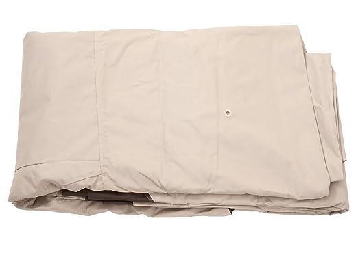 Dach Bezug Sonnenschutz creme Ersatzdach für Pergola Nisa 3,5x3,5m