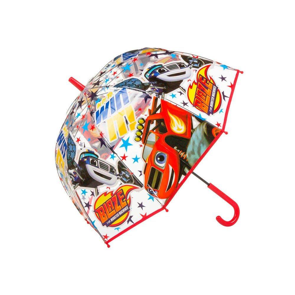 Blaze E Le Mega Macchine BL16044 Ombrello Trasparente, Bambini, 48 Centimetri Kids 879320