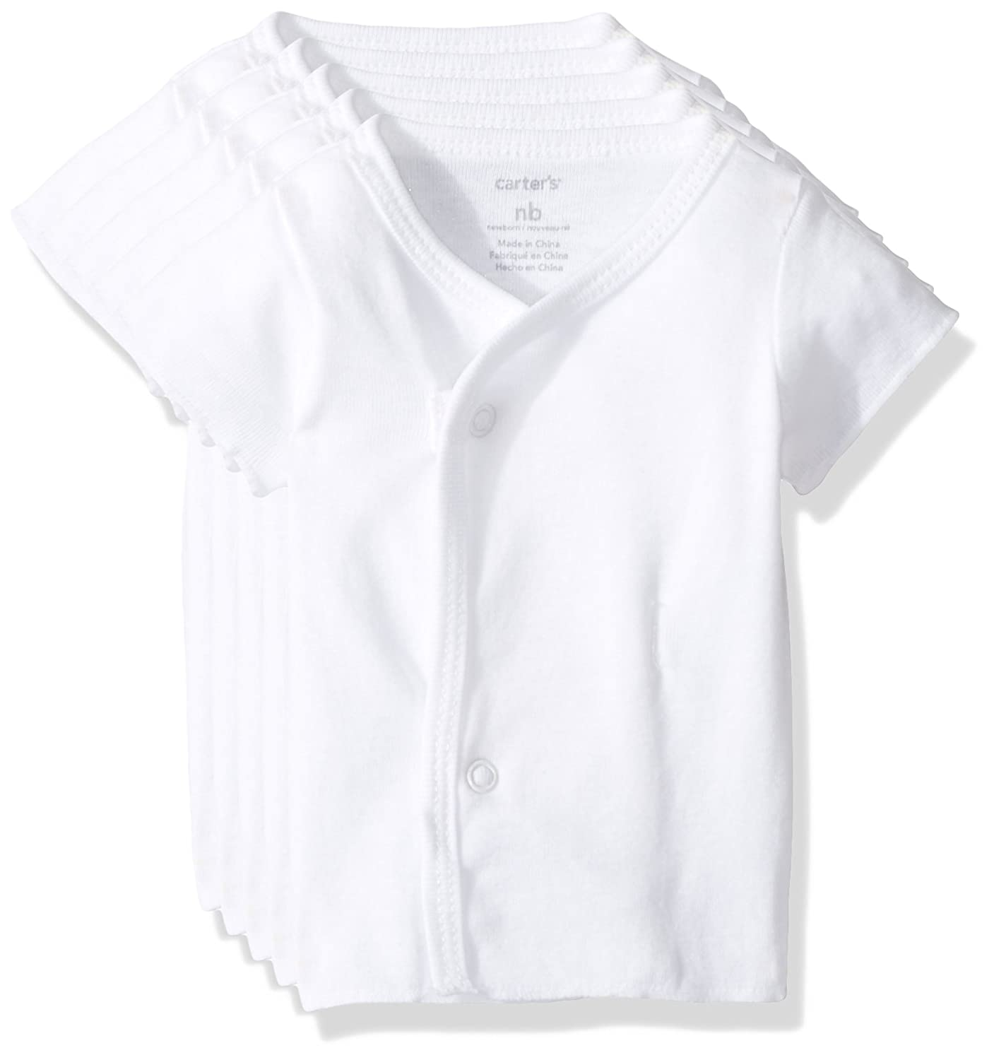 Carter's Unisex Baby 5-Pack Side Snap Tee Carter' s P000308433