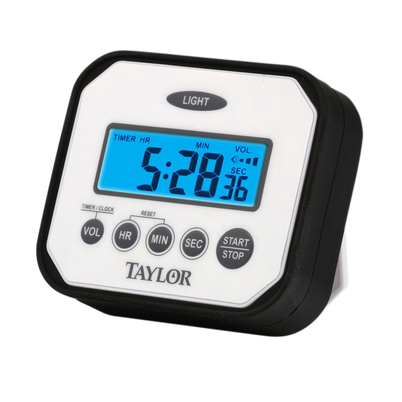 Taylor Precision Products Pro Splash 'n' Drop Digital Timer with Volume Settings Taylor Thermometers 5863
