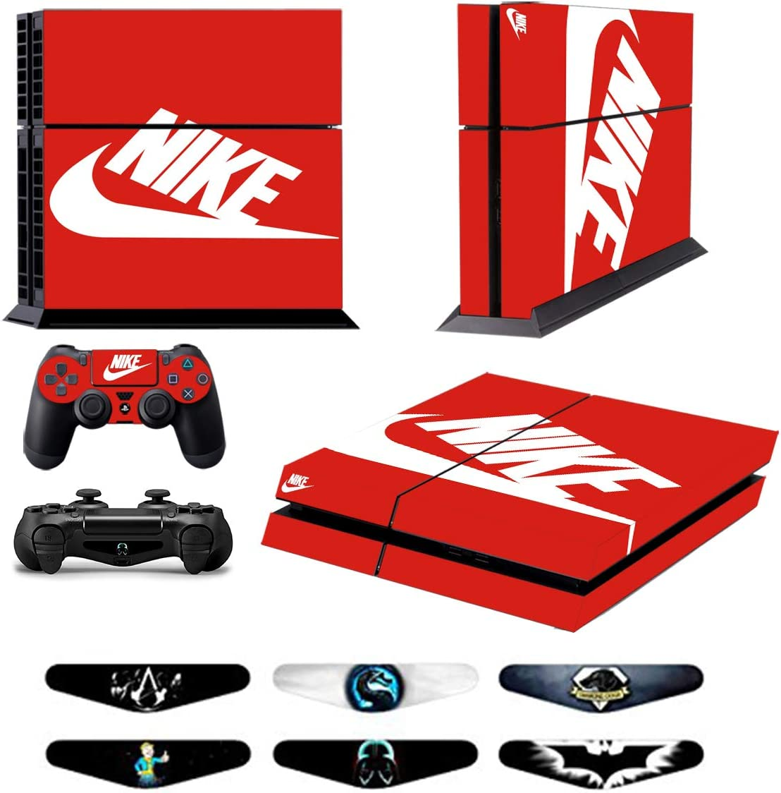 752b5c9d659b Amazon.com  Skins for PS4 Controller - Decals for Playstation 4 ...