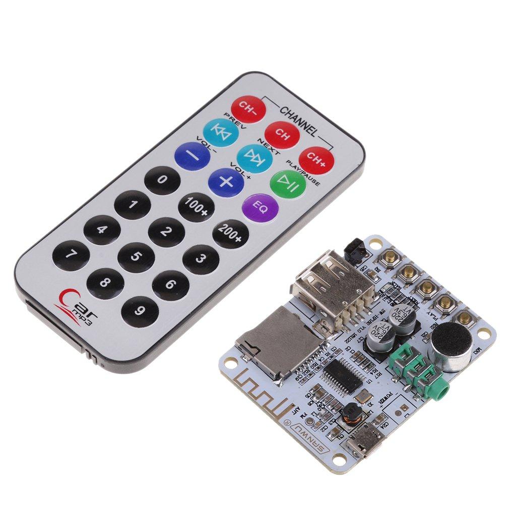 Baoblaze Receptor de Audio + Mando Amplificador de Control Remoto Inalámbrico Bluetooth V4.2: Amazon.es: Electrónica