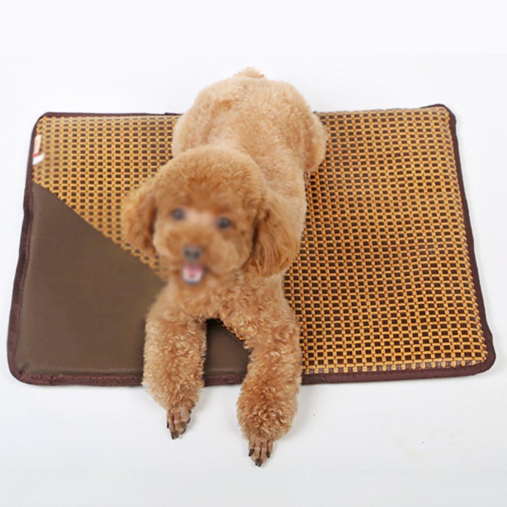 4838cm Dog Mat Kennel Summer Cat Mat Large Dog Mat Sleeping Pad Resistance to Bite Pet Bed Ice Pad (Size   4838cm)