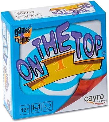 Cayro - On The Top - Juego de Trabajo en Equipo- Juego de Mesa - Desarrollo de Habilidades cognitivas e intepersonales - Juego de Mesa (7007): Amazon.es: Juguetes y juegos