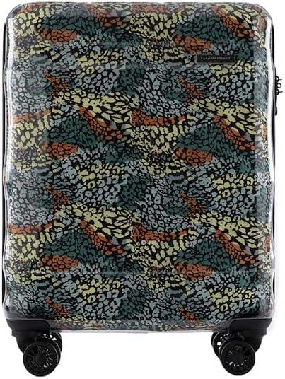 PACO MARTINEZ | Glass Maleta de Cabina Transparente |Equipaje de Mano |55x40x20 |Multicolor
