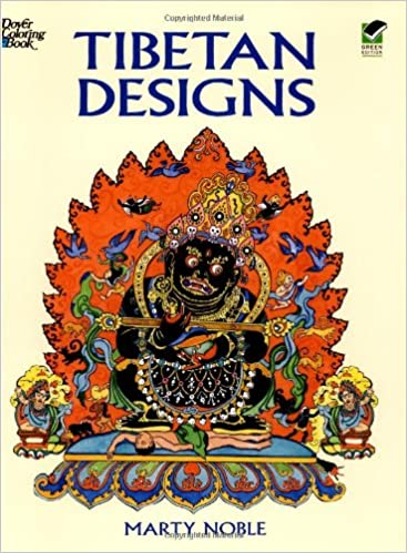 tibetan designs dover design coloring books