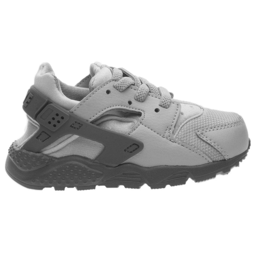 NIKE Toddlers Huarache Run Running Shoes Wolf Grey//Cool Grey