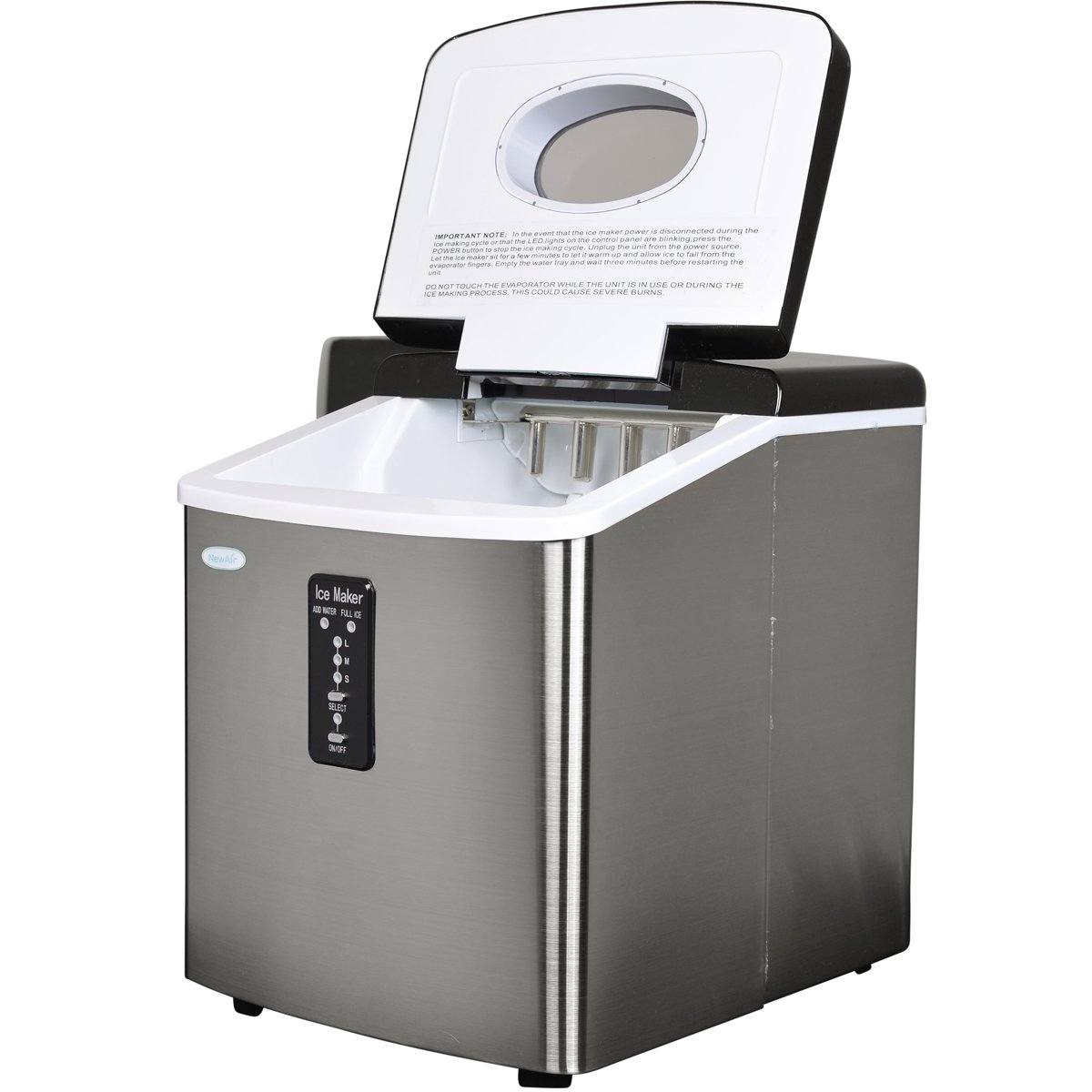 Ice maker of scaly ice. Scope, models, prices
