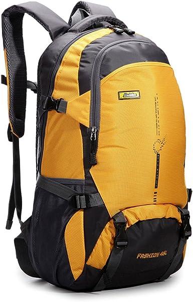 Mochila de senderismo 45L impermeable mochila deportiva al aire libre para escalada montañismo pesca viajes ciclismo