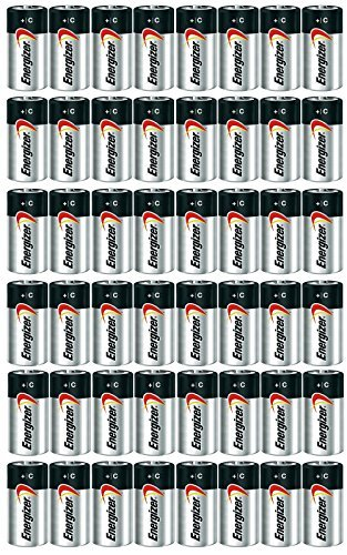 ENERGIZER E93 Max ALKALINE C BATTERY Made in USA Exp  12-2024 or later - 48  Count