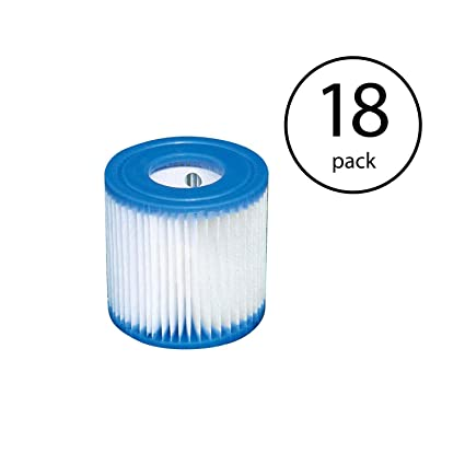 18 Pack Intex Type A Filter Cartridge for Above Ground Swimming Pool Pumps