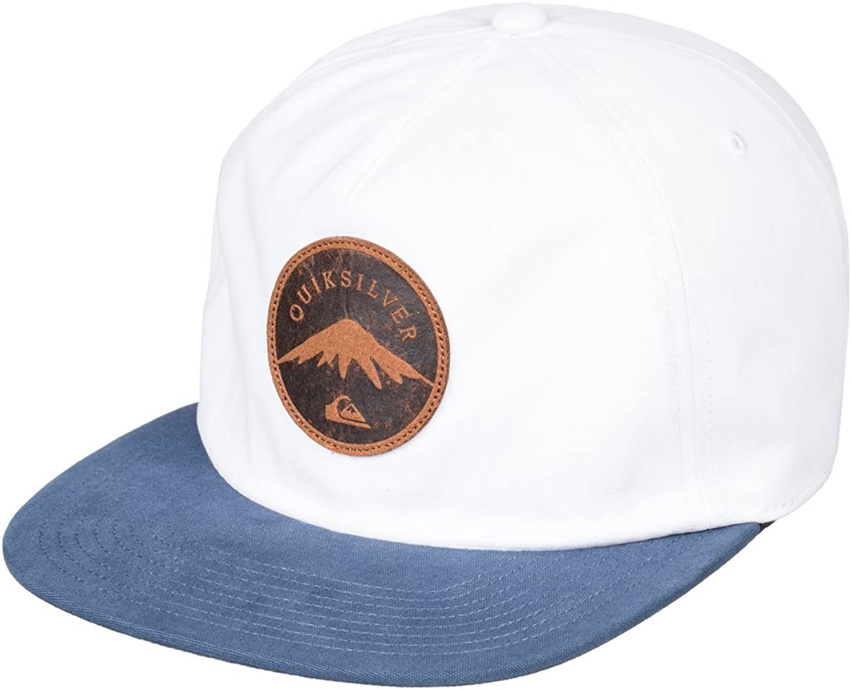 Quiksilver - Gorra Ajustable - Hombre - One Size - Blanco: Amazon ...