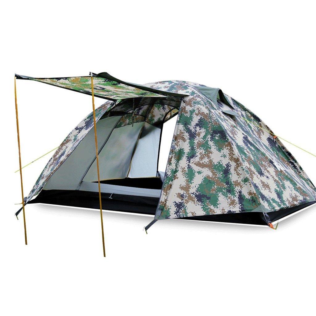 TLMY Im Freien doppeltes regendichtes Zelt Vier Jahreszeiten Ultra-Light Feldausrüstung Zelte