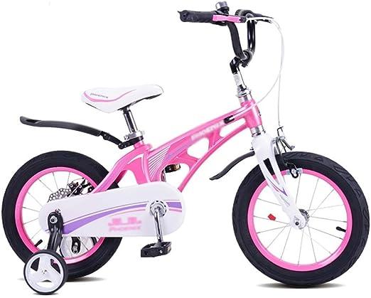 Unknow Bicicleta de niño y niña de 3~13 años Bicicleta pequeña ...