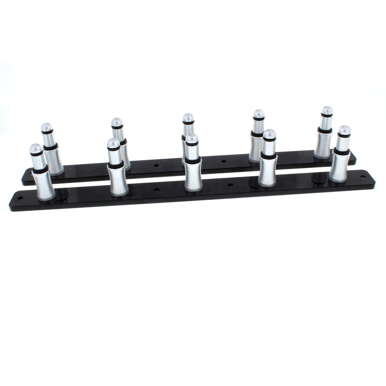 Five-Shock Trailer Mount Rack-1/2 Inch Shock End Application