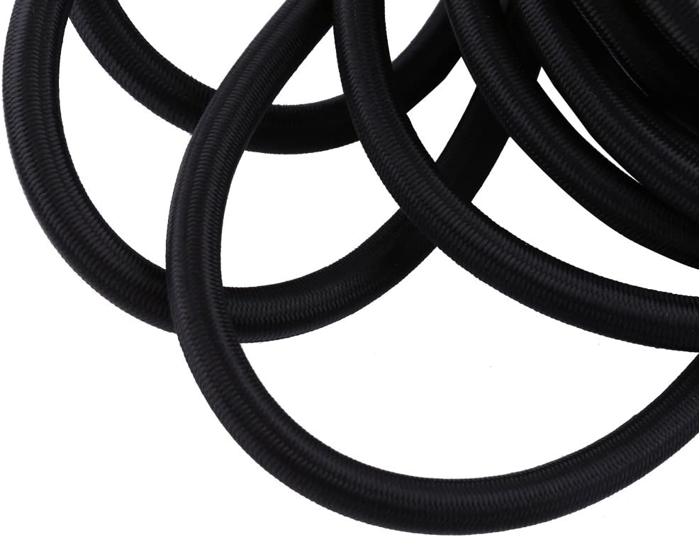 10mm Elastic Stretch Bungee Rope Down Stretch Rope Shock Cord Tie for DIY Craft Making 5mm