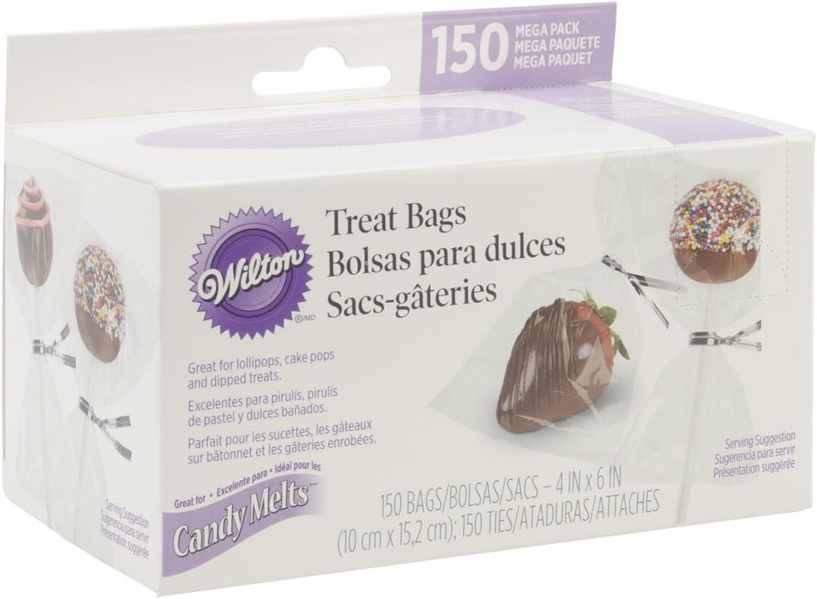 Wilton Mega Pack Bolsas para Dulces, 150 Unidades, Centimeters ...