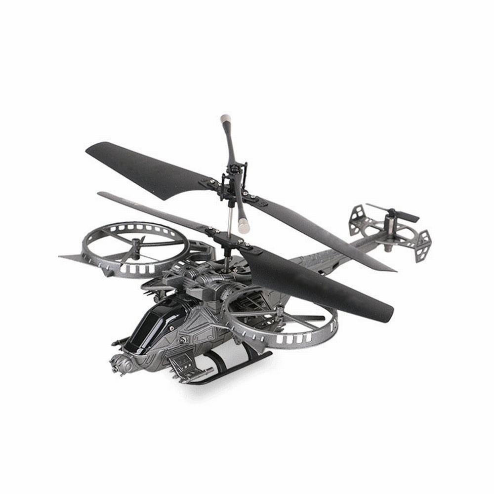 Promoción por tiempo limitado WF Aviones de Control Remoto Helicóptero de Cuatro Canales Aviones Modelo de Vehículos Aéreos No Tripulados de Cuatro Canales,Gris,30-50cm