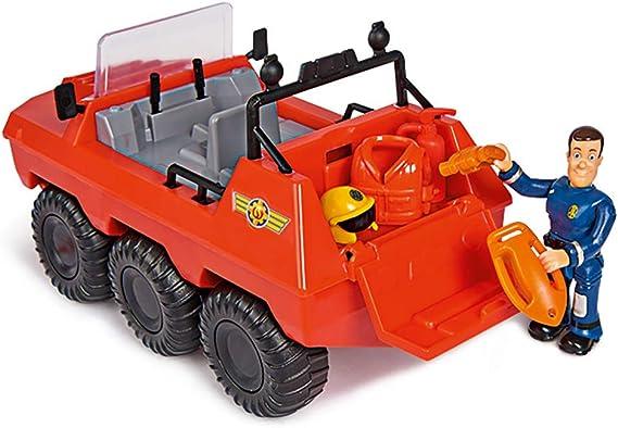 Simba 203099618-Pompier Sam-Mini Rescue Paly Set avec Hydrus-Neuf