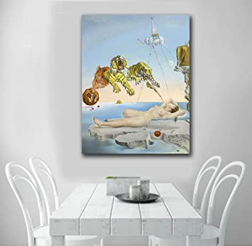 Karen Max Salvador Dali Dream-Caused Tela Pittura per ...