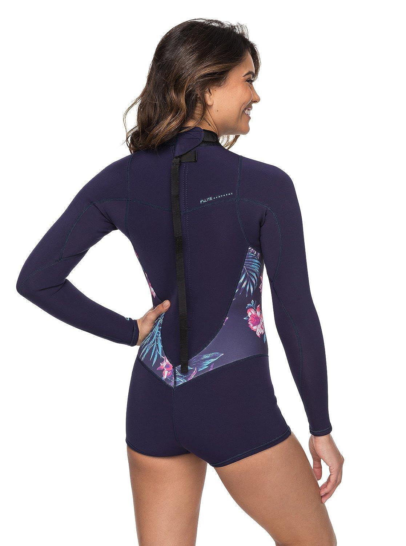 Roxy 2 2mm Syncro Series - Long Sleeve Back Zip FLT Springsuit for Women   Roxy  Amazon.co.uk  Clothing 4064b61db