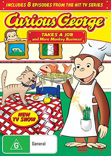 Curious George Volume 3 Takes A Job and Other Adventures | NON-USA Format | PAL | Region 4 Import - Australia