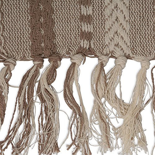 DII 15x72 Braided Cotton Table Runner, Stone Taupe Perfect for Spring, Fall Holidays, Parties and Everyday Use by DII (Image #3)