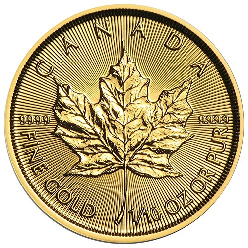 2017 CA $5 Gold Canadian Maple Leaf .9999 1/10 oz. (Brilliant Uncirculated) $5 Brilliant Uncirculated