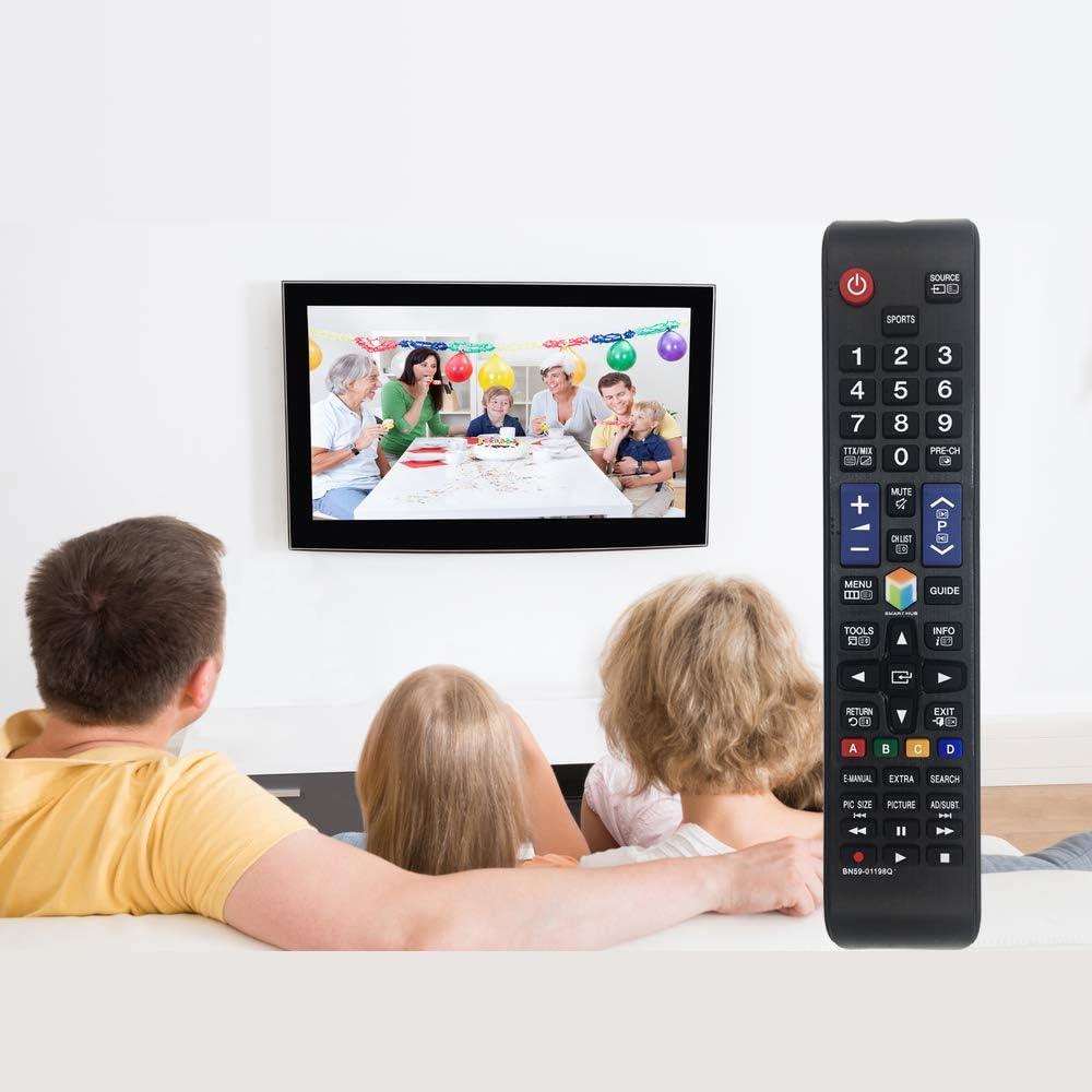 MYHGRC Reemplazo Mando a Distancia para Samsung BN59-01198Q Mando para Samsung TV-No Requiere configuración Mando a Distancia para Samsung LCD LED Smart TV: Amazon.es: Electrónica