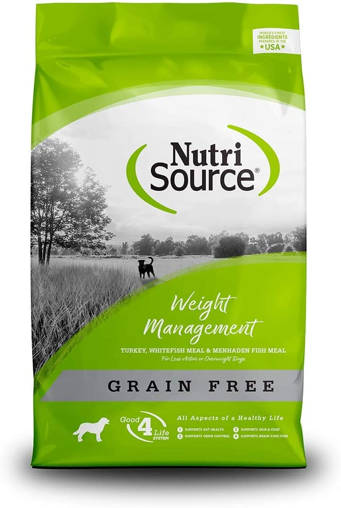 Nutrisource Grain Free ( Turkey ) Weight Management Dog Food 15Lb