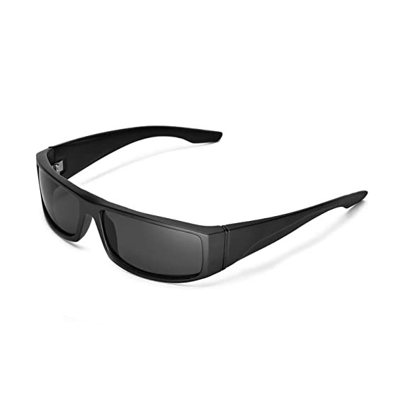 1bec3ae0ff2 Walleva Replacement Lenses for Spy Optic Cooper Sunglasses - Multiple  Options (Black - Polarized)  Amazon.co.uk  Clothing